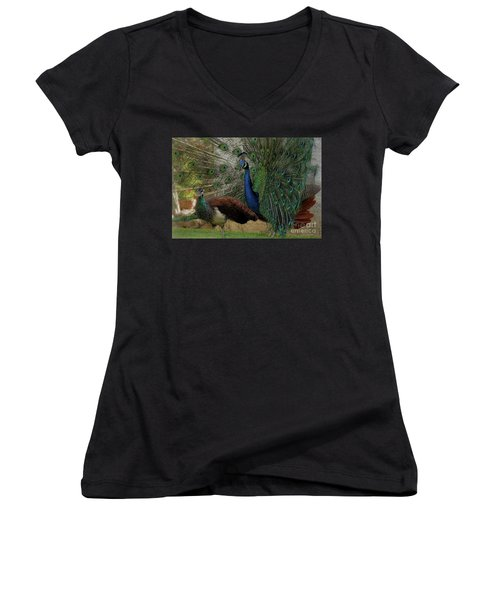 Wandering Lovers Women's V-Neck (Athletic Fit)
