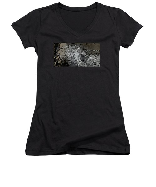 Water Abstract 7 Women's V-Neck T-Shirt