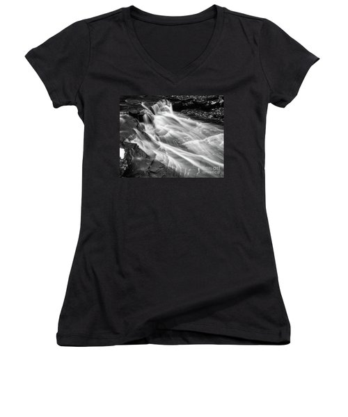 Water Falls Women's V-Neck