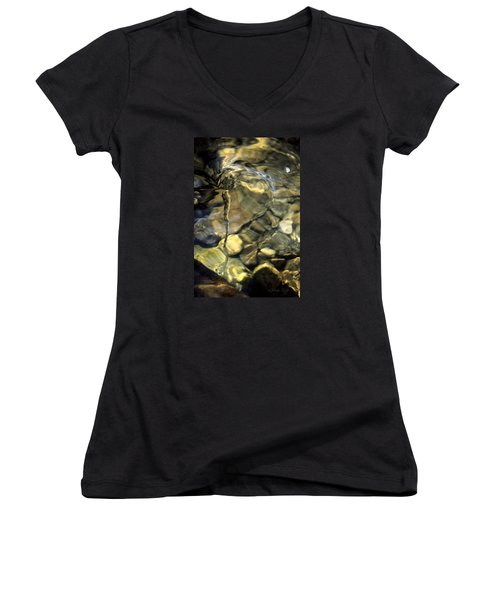 Water Spout Women's V-Neck T-Shirt