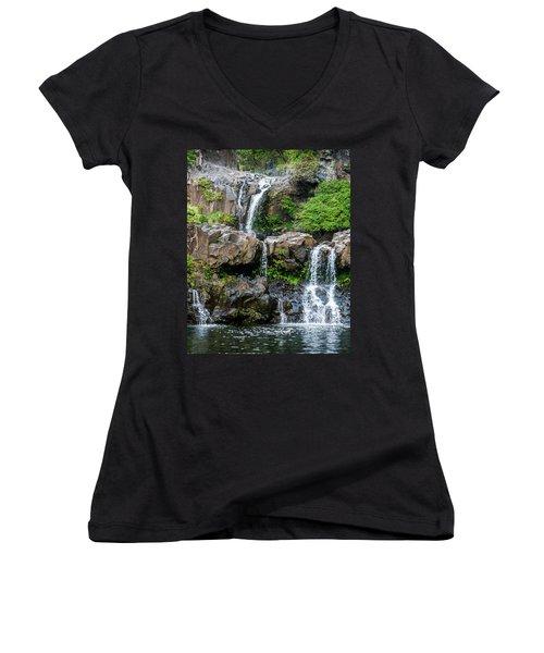 Waterfall Series Women's V-Neck