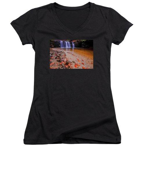 Waterfall-8 Women's V-Neck
