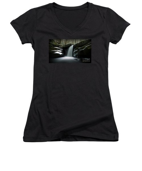 Waterfall From A Dream Women's V-Neck