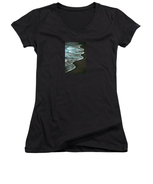 Waves Of The Future Women's V-Neck (Athletic Fit)