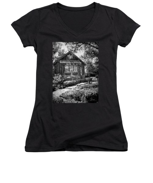 Weathered With Time Women's V-Neck
