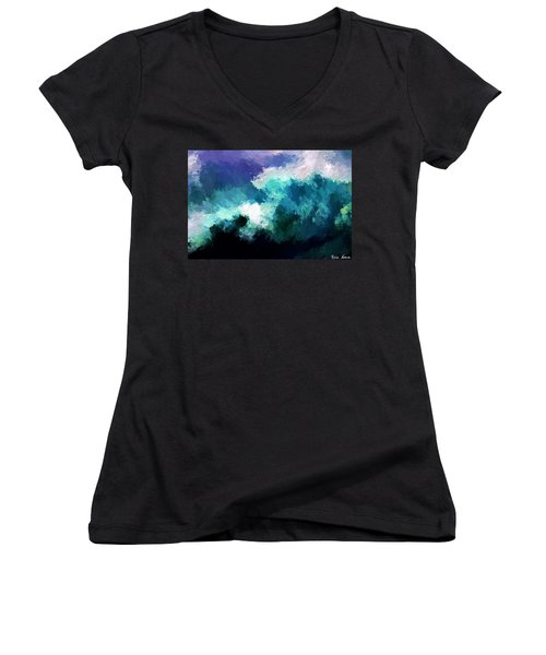 Weathering The Storm Women's V-Neck