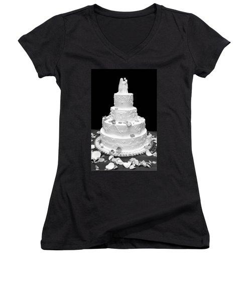 Wedding Cake Women's V-Neck