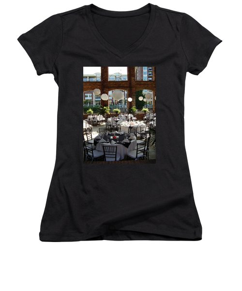 Wedding Women's V-Neck (Athletic Fit)