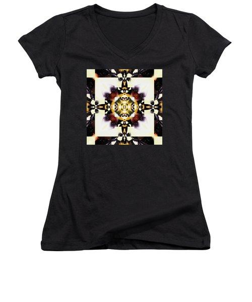 Well-framed Women's V-Neck T-Shirt (Junior Cut) by Jim Pavelle