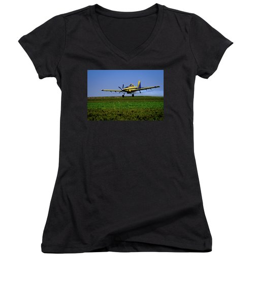 West Texas Air Force 2 Women's V-Neck