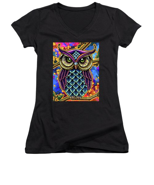 What A Hoot Women's V-Neck (Athletic Fit)