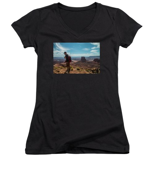 What A View Women's V-Neck