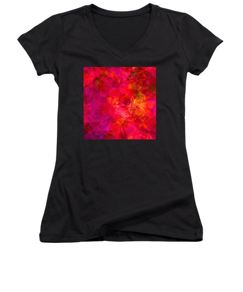 What The Heart Wants Women's V-Neck T-Shirt
