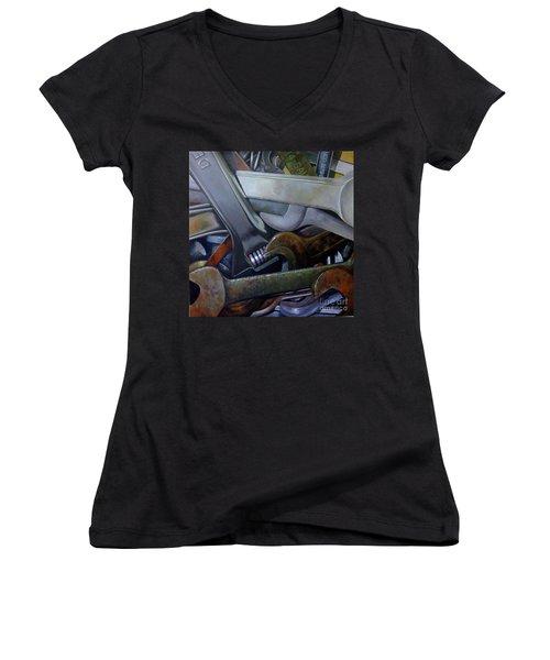 Where Have All The Mechanics Gone Women's V-Neck T-Shirt