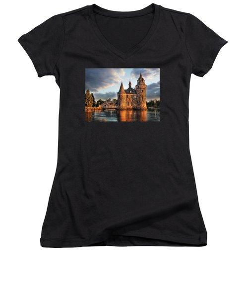 Where Time Stands Still Women's V-Neck T-Shirt
