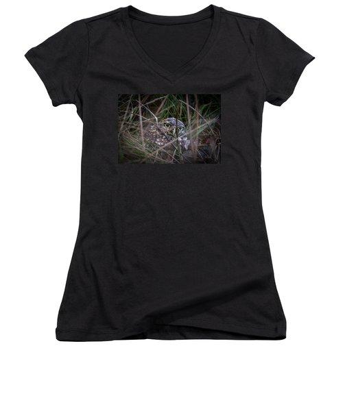 Who Dat Women's V-Neck T-Shirt