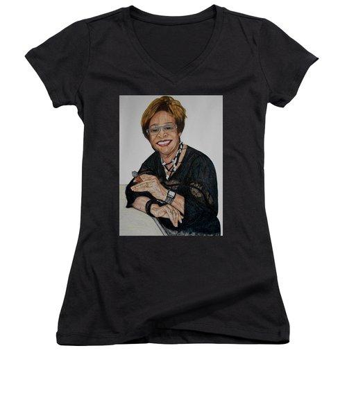 Willie Height Women's V-Neck T-Shirt