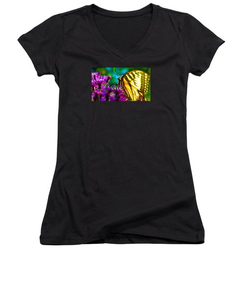 Wings Of A Tiger Women's V-Neck T-Shirt