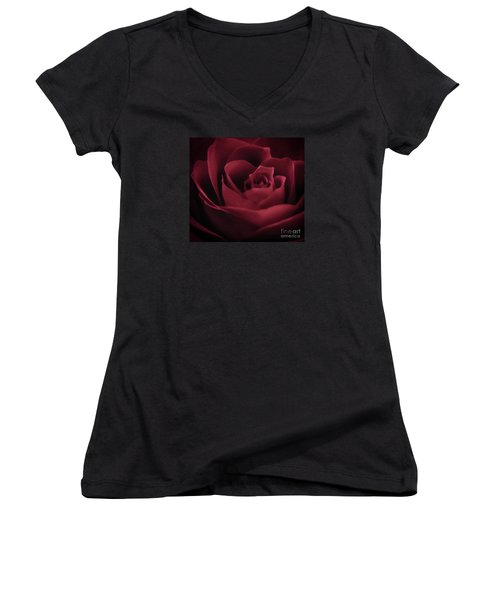With This Rose Women's V-Neck T-Shirt