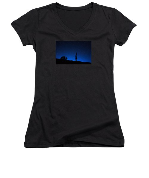 Wonder In Wyoming Women's V-Neck T-Shirt