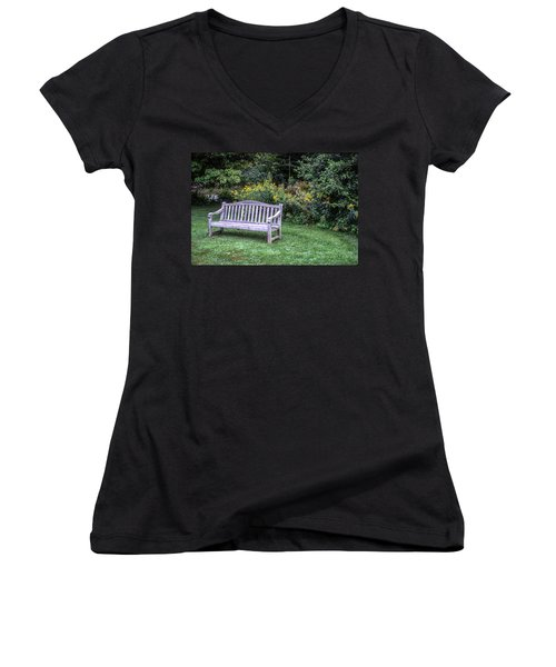 Woodstock Bench Women's V-Neck