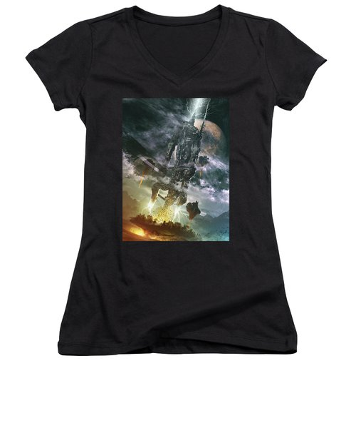 World Thief Women's V-Neck