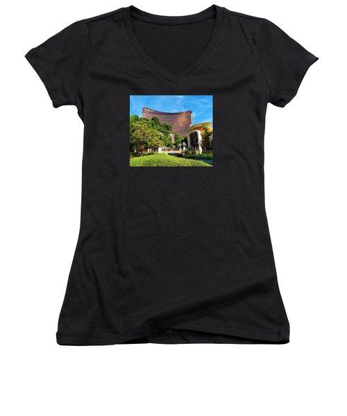Wynn Las Vegas Women's V-Neck T-Shirt