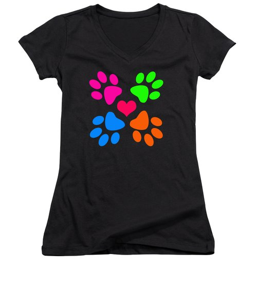 Year Of The Dog Women's V-Neck (Athletic Fit)