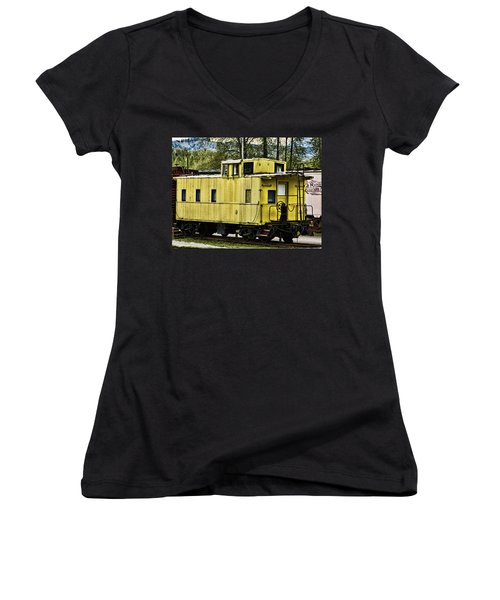 Yellow Caboose Women's V-Neck