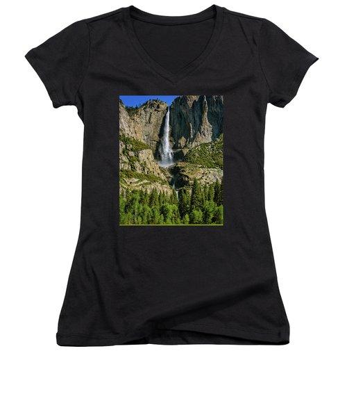 Yosemite Falls Women's V-Neck