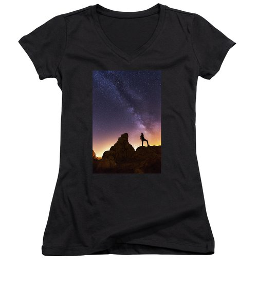 You Cant Take The Sky From Me Women's V-Neck