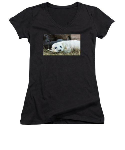 Young Pup Women's V-Neck
