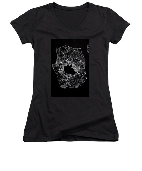 Your Angel Women's V-Neck (Athletic Fit)