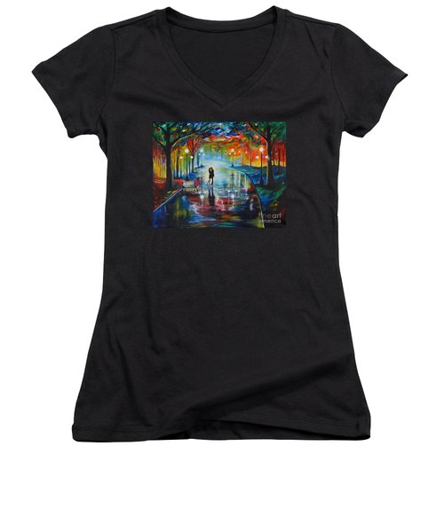 Your Love Women's V-Neck (Athletic Fit)