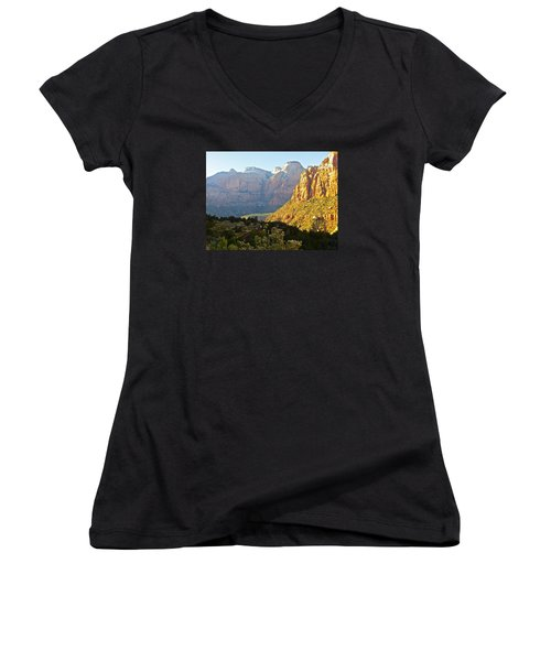 Zion's Gold Women's V-Neck (Athletic Fit)