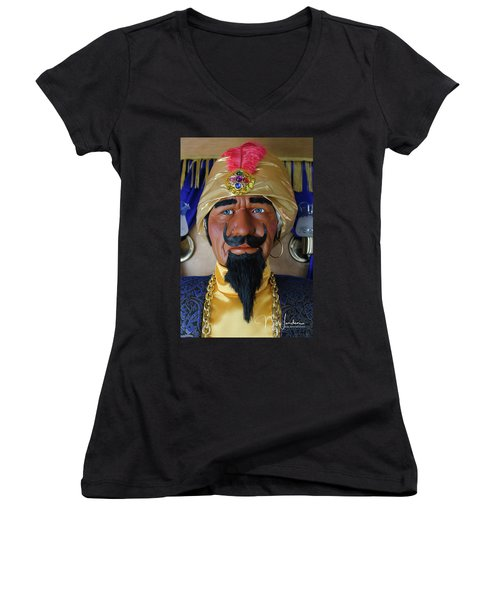 Zoltar The Fotune Teller Women's V-Neck T-Shirt