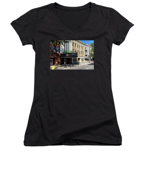 Miller Theater Augusta Ga Women's V-Neck