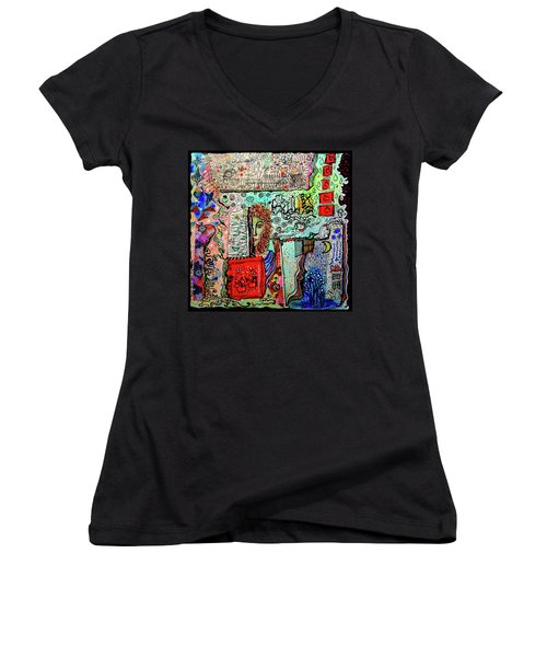 A Story Waiting To Be Told Women's V-Neck