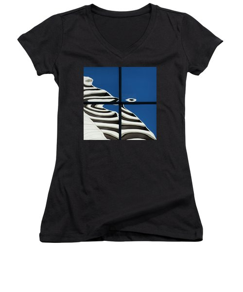 Abstritecture 41 Women's V-Neck