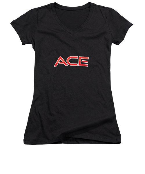 Ace Women's V-Neck