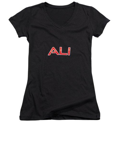 Ali Women's V-Neck