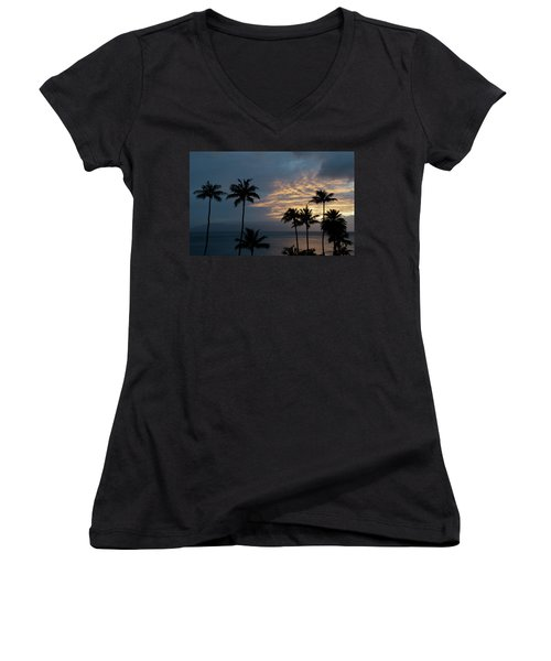 Aloha And Goodbye Women's V-Neck