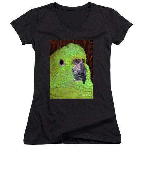 Amazon Parrot Women's V-Neck