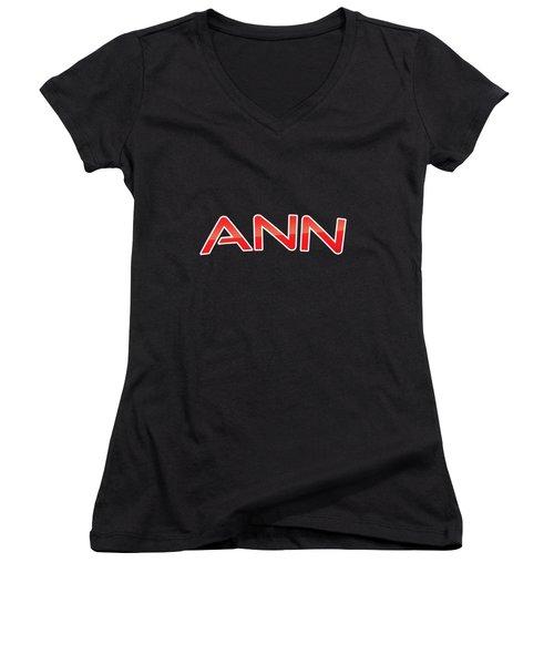 Ann Women's V-Neck