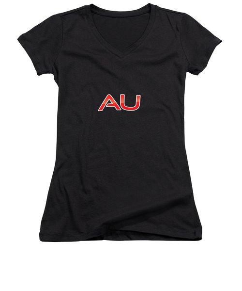 Au Women's V-Neck