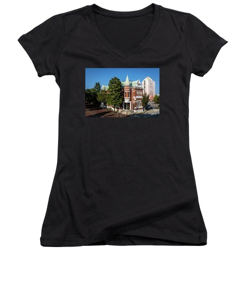 Augusta Cotton Exchange - Augusta Ga Women's V-Neck