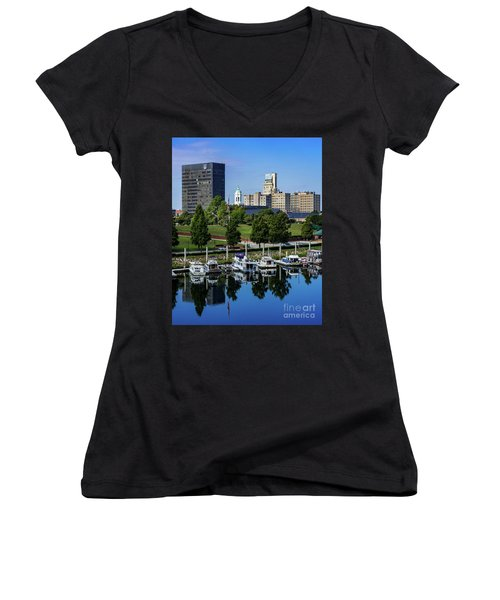 Augusta Ga Savannah River 3 Women's V-Neck