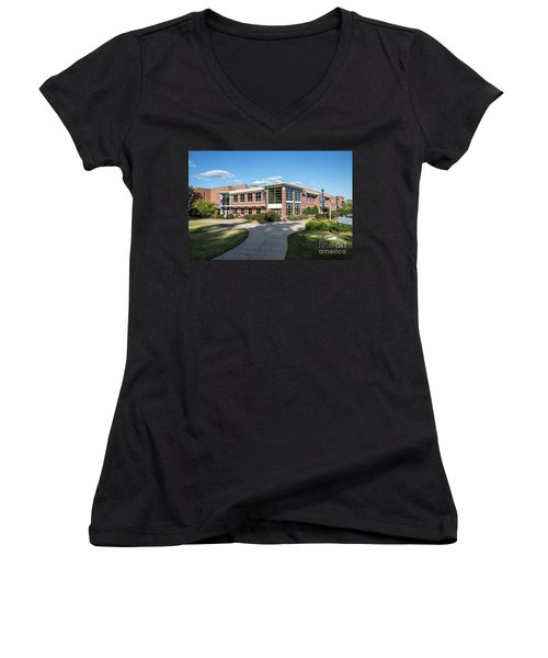 Augusta University Student Activity Center Ga Women's V-Neck