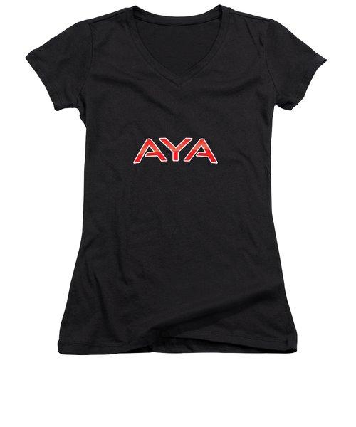 Aya Women's V-Neck