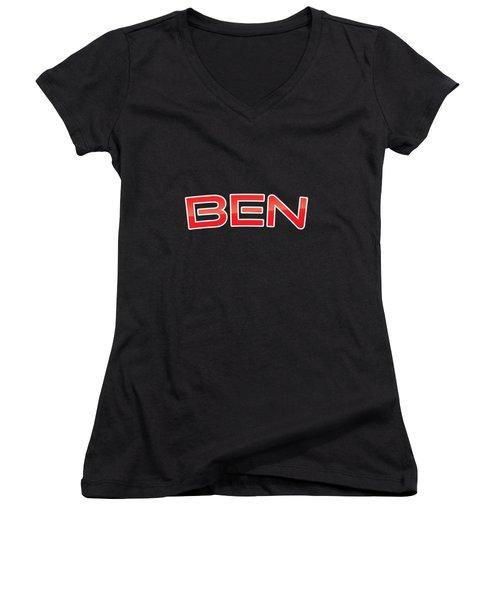 Ben Women's V-Neck